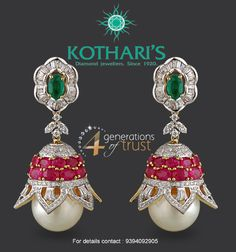 Gift a loved one with these beautiful Jhumkas and bring a smile on her face.
