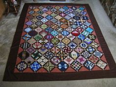 Farmers Wife quilt top.  I just love this quilt pattern.  It looks great in any color way or fabric print.