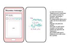 Téléphone portable fête des mères Messages, Portable, Electronics, The Sea, Text Posts, Text Conversations, Consumer Electronics