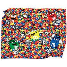 M Characters Blanket