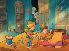 the shoemaker and the elves by Jovan-Ukropina