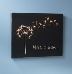 Design, Create, Inspire!: Make a Wish Wooden Canvas