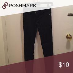Skinny black Jean size 0 blue spice Worn once skinny black Jean Blue spice Pants