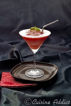 Margarita aux Fraises / Strawberry Margarita