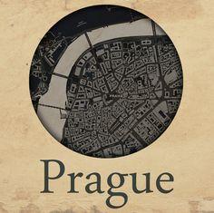 Cities edition - Praha by mapshakers.com