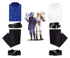 """""""Florida and Wyoming"""" by sydney-j-harris on Polyvore featuring Chaps, ETON, Haggar, Stacy Adams, HUGO, Tommy Bahama, men's fashion and menswear"""