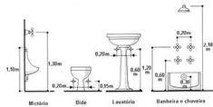 Resultado de imagen de planta baixa hidraulica banheiro