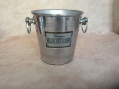 French Vintage Champagne Bucket Ice Bucket by AlfiejayneVintage, €22.00