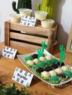 Birthday Diy, Birthday Parties, Cactus 2, Western Parties, Mexican Party, Ideas Para Fiestas, Cactus Y Suculentas, Happy B Day, Birthday Party Decorations