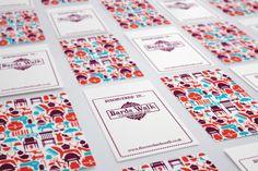 Bards Walk. Bag tags #brand #branding #brand identity #design #illustration #painting #drawing #graphics #webdesign #brochure #print #pagelayouts #prospectus #leaflets #campaigns #web #logos #digital #education #learning #school #students #happygiraffeltd www.happy-giraffe.com