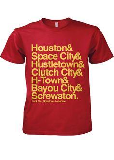 H-town nickname shirt