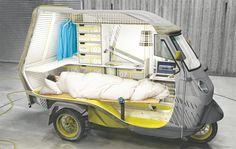 【ひとり旅用】キャンピングカー「Bufalino」:DDN JAPAN