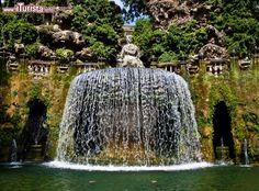 Fontana dell'Ovato a Villa d'Este, Tivoli: ...