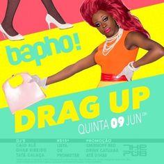 #VEJA The Pub: Bapho! Drag Up #agenda @paroutudo via ParouTudo http://ift.tt/1WGBEud #Raynniere #Makepeace