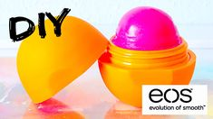 Never be caught with out lip balm again, all you need is a few materials and this easy tutorial. See how to make Eos Lip Balm at home! Homemade Lip Balm, Homemade Beauty, Diy Beauty, Beauty Tips, Eos Lip Balm, Lip Balms, Make Your Own, Make It Yourself, Easy Youtube