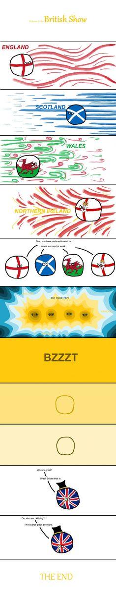 Countryballs: Great Britain