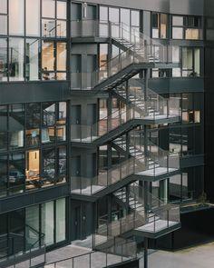 WESTSIDE - Programme tertiaire_RENNES - Agence a/LTA architectes - urbanistes Le Trionnaire (x2) - Tassot - Le Chapelain Multi Story Building, Aphasia, Architects