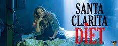 SANTA CLARITA DIET heißt die neue Netflix-Serie, in der Mutti, gepielt von Drew Barrymore, plötzlich zum Zombie wird und die Familie auf unkonventionelle Futtersuche gehen muss. #Netflix #SantaClaritaDiet #Comedy #Review #Serie