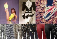 Dans les années 80, la mode a été très frappante. Cristina Fort