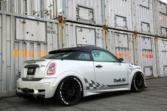 "Superturismo LM 17"" (Black Custom Color) on Mini Coupe JCW by DuellAG from Japan."