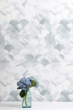 """Silver Birch is printed with grey and white inks.It is also washable,  strippable, unpasted, and Class A fire rated.Type II & contract wallpaper  is also available.  Straight match. Vertical repeat: 29.5"""" Horizontal repeat: 27"""" Untrimmed  Roll - $250 -27″ x 15′  Sheet - $50 27″ x 40″  Large Sample - $2027"""" x 15""""  Sample - $5 8″ x 10″  Click here to view additional colorways of this pattern.  Click here for custom colorway information"""