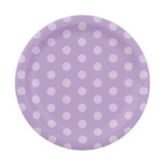 Purple Polka Dot Baby Shower 7 Inch Paper Plate  sc 1 st  Pinterest & Sweet Pink Gingham and Stork Baby Shower Plate 7 Inch Paper Plate ...