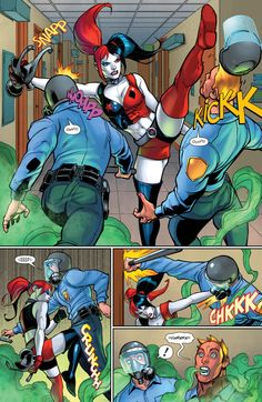 Kickin' Butt in Harley Quinn #25