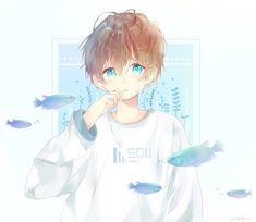 Anime Oc, Manga Anime, Kawaii Anime, Manga Boy, Handsome Anime Guys, Cute Anime Guys, Anime Child, Anime Art Girl, Character Art