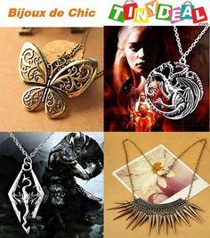 Fashion nouveaux bijoux pour l'automne et l'hiver 2014 A partir de 1,50€, suivez la mode et trouvez votre style, punk, rétro ect. Collier pour pull forme de papillon http://www.tinydeal.com/fr/retro-style-px252l7--p-139960.html Rétro Style Collier pour Homme http://www.tinydeal.com/fr/vintage-px252l7-p-138294.html Style Punk Rivet Collier http://www.tinydeal.com/fr/vintage-punk-px252l7-p-139958.html Collier de série de jeu http://www.tinydeal.com/fr/vintage-dragon-px252l7-p-139364.html
