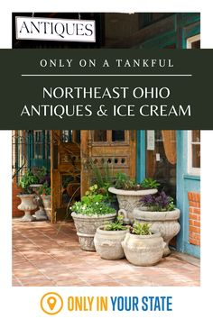 Discover the best antiques and ice cream on this Akron, Ohio day trip, not far from Canton and Cleveland. Best Bucket List, Bomb Shelter, The Buckeye State, Akron Ohio, Hidden Beach, Old Signs, Relaxing Day, Swimming Holes, Vintage Cameras