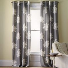 West Elm – Queen Anne's Lace Printed Curtain & Drapery Panels