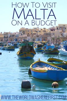 #Malta #Travel #Europe #BudgetTravel Malta Travel Budget | Is Malta expensive? | Malta Travel | Visit Malta