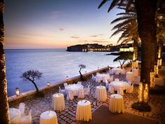 Palm Terrace - wedding venue in Dubrovnik with stunning sea view and view on Old town