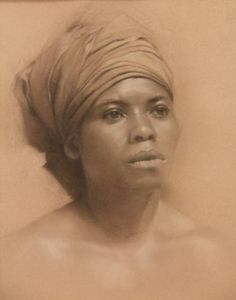 View Mary Jo Popp Johnson's Artwork on Saatchi Art. Find art for sale at great prices from artists including Paintings, Photography, Sculpture, and Prints by Top Emerging Artists like Mary Jo Popp Johnson. Portrait Au Crayon, Portrait Art, Pencil Portrait, African American Art, African Art, Portraits Pastel, Inspiration Art, Love Art, Amazing Art
