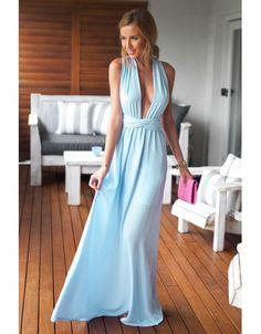 Rochie lunga cu decolteu adanc Summer Dresses, Womens Fashion, Summer Sundresses, Women's Fashion, Woman Fashion, Summer Clothing, Summertime Outfits, Summer Outfit, Fashion Women