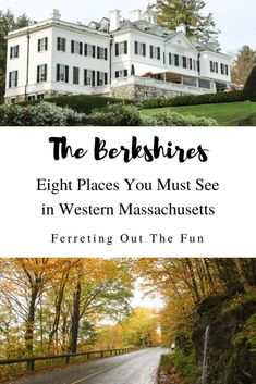 Wondering what to do in the Berkshires? From scenic drives through fall foliage, to museums featuring great American artists, this list has you covered. Places To Travel, Places To See, Travel Destinations, East Coast Road Trip, New England Travel, Amazing Adventures, Adventure Is Out There, Dream Vacations, Where To Go