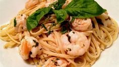 Shrimp Lemon Pepper Linguini | funnpicc.com