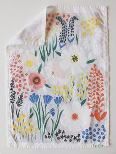 This must be the prettiest dishtowel I've ever seen. Via Oh Happy Day.