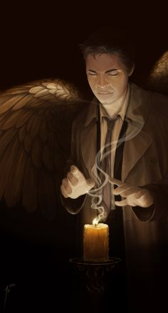 SPN BDAY gift for Euclase by JoannaJohnen on deviantART