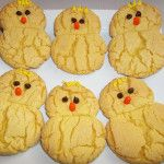 Easter Chick Cookies: could easily be made into ducklings!