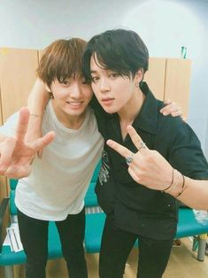 • Jeon Jeongguk & Park Jimin •