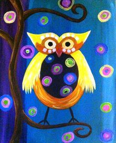 'Funky Owl' by Becca Samuel