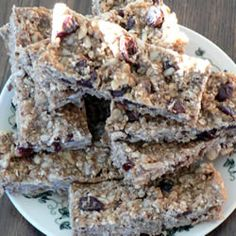 Amazing and really healthy energy bars recipe