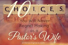 10 secrets to living the ministry life in a regret free zone.