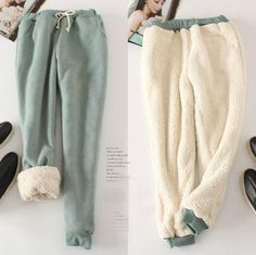 Autumn-winter Casual velvet Ladies' wide trousers thick loose Shirley Pants Female fleece long Moto Pants Pantalones <font><b>pitillo</b></font>