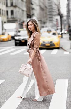 Pink duster coat / Marianna Hewitt                                                                                                                                                                                 More