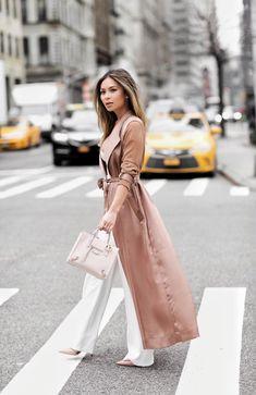 Pink duster coat / Marianna Hewitt                                                                                                                                                                                 More