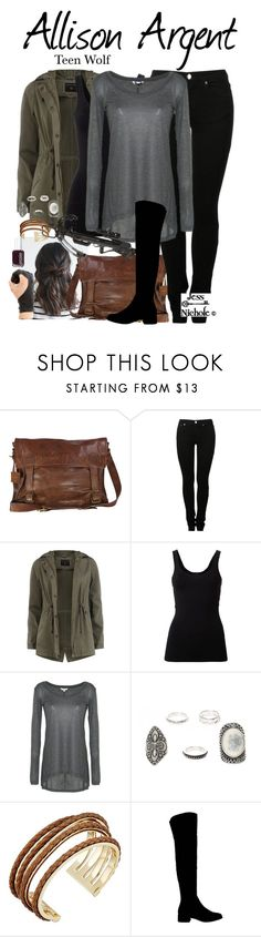 """""""Allison Argent"""" by jess-nichole ❤ liked on Polyvore featuring VIPARO, MM6 Maison Margiela, Dorothy Perkins, Theory, Go Green M by M, Cole Haan, Office and Essie"""