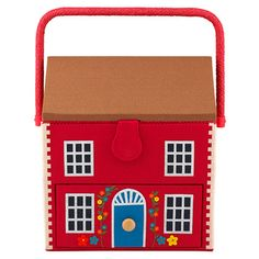 House Sewing Basket