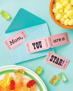 Movie Night Mother's Day Card: We love this diy card from Martha Stewart Living